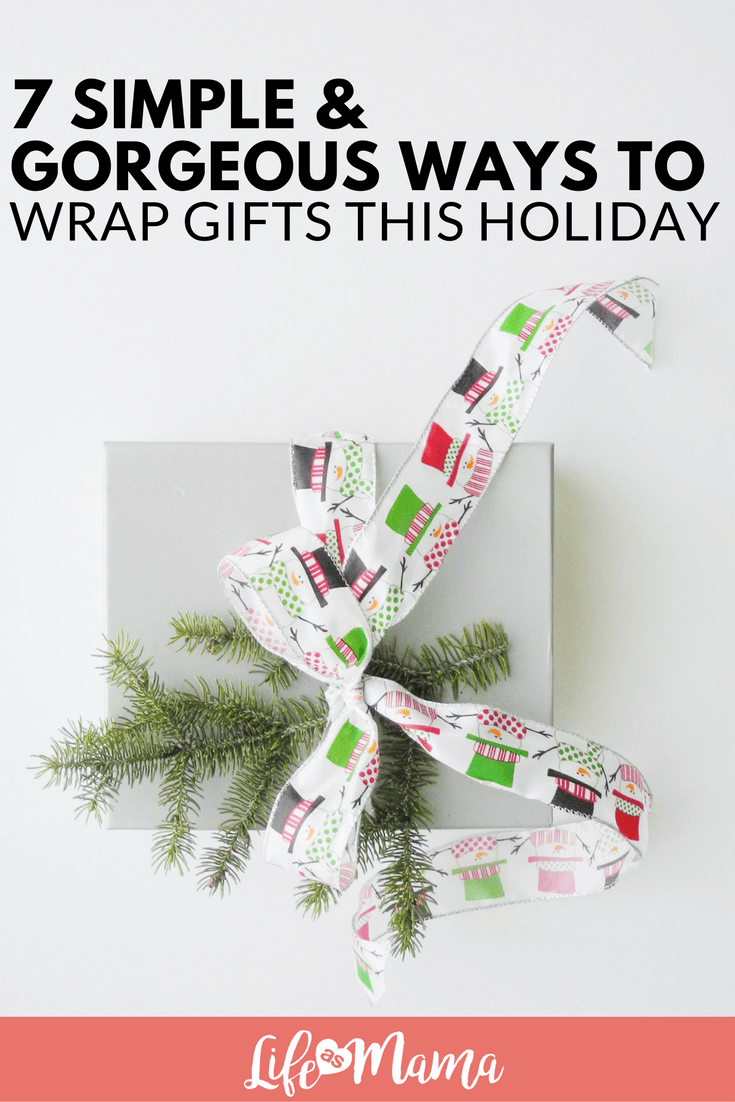 7 Simple Gorgeous Ways To Wrap Gifts This Holiday