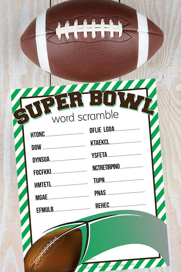 graphic about Super Bowl Party Games Printable named 8 Tremendous Bowl Occasion Game titles That Are A Correct Group Pleaser