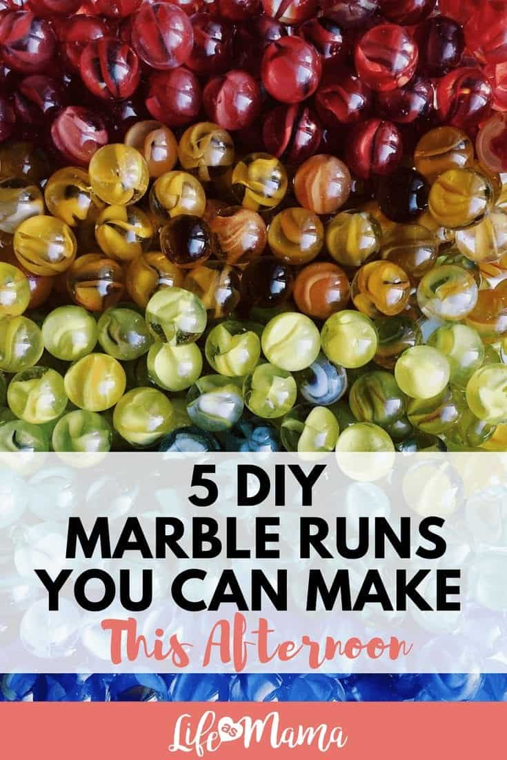 5 DIY Marble Runs You Can Make This Afternoon