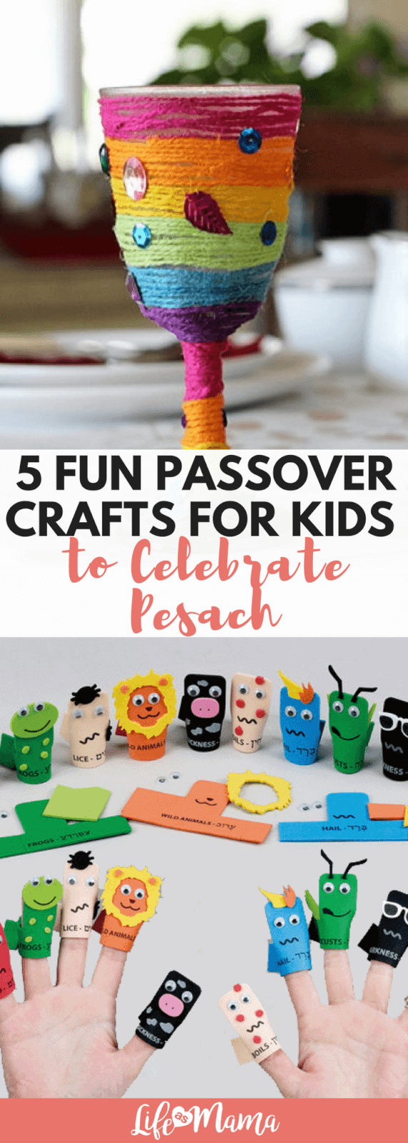 5 Fun Passover Crafts For Kids to Celebrate Pesach