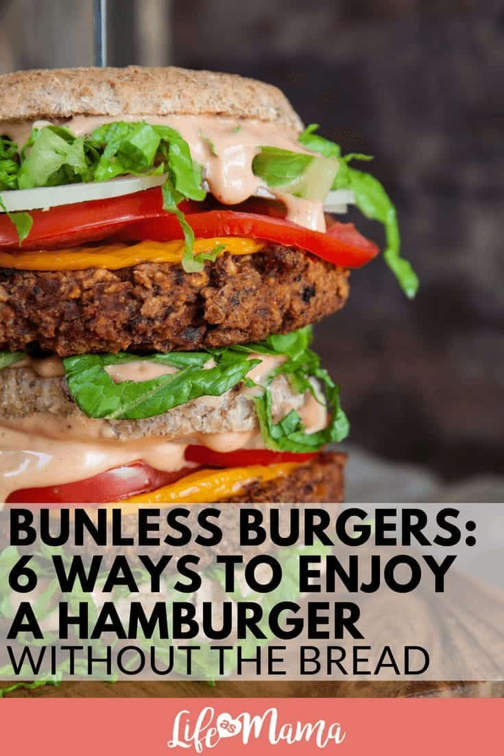 Bunless Burgers: 6 Ways To Enjoy A Hamburger Without The Bread
