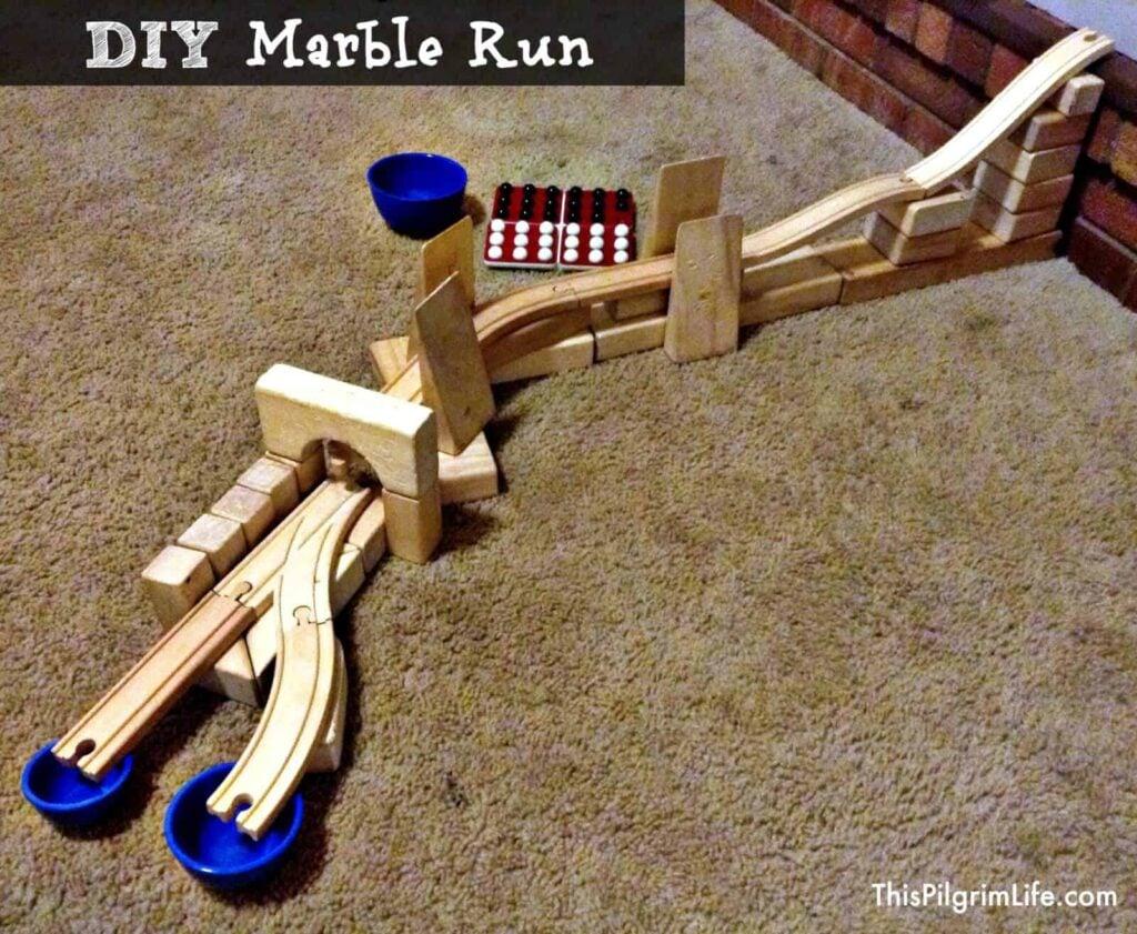 DIY Marble Runs