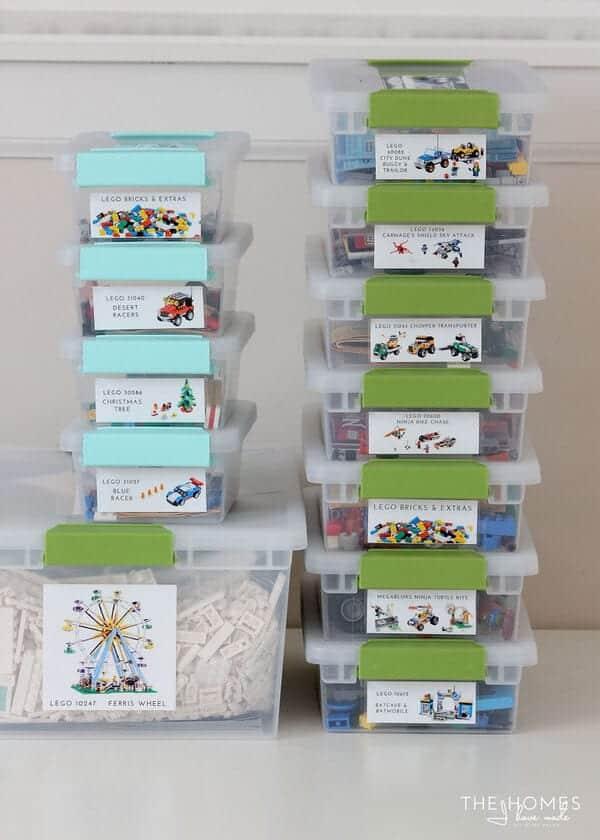 Incroyable LEGO Storage