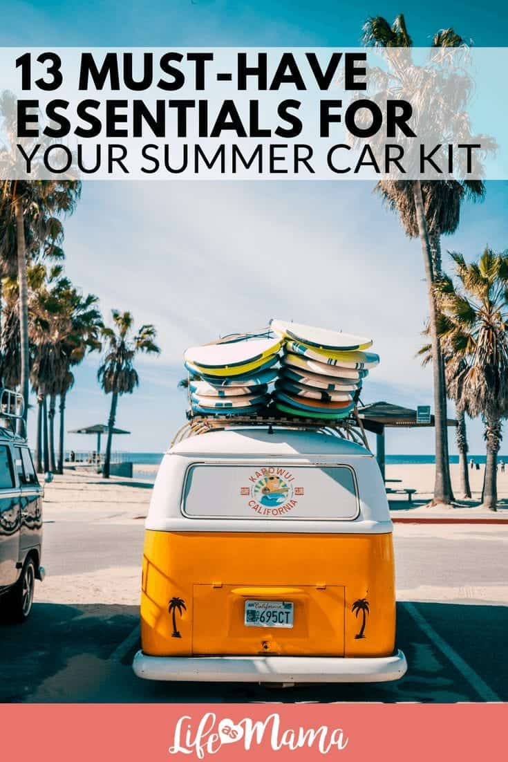 13 Must-Have Essentials For Your Summer Car Kit