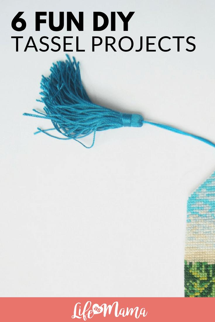 6 Fun DIY Tassel Projects