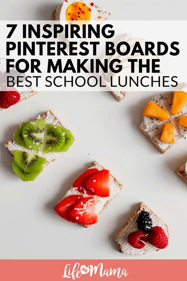 7 Inspiring Pinterest Boards For Making Creative School Lunches