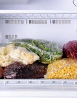 Freezer Organizing tips