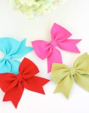 diy hair bow tutorials