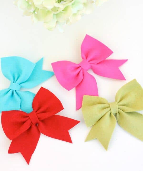 diy hair bow tutorials
