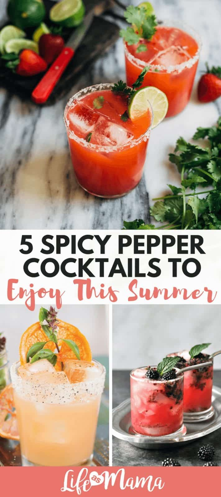 5 Spicy Pepper Cocktails To Enjoy This Summer