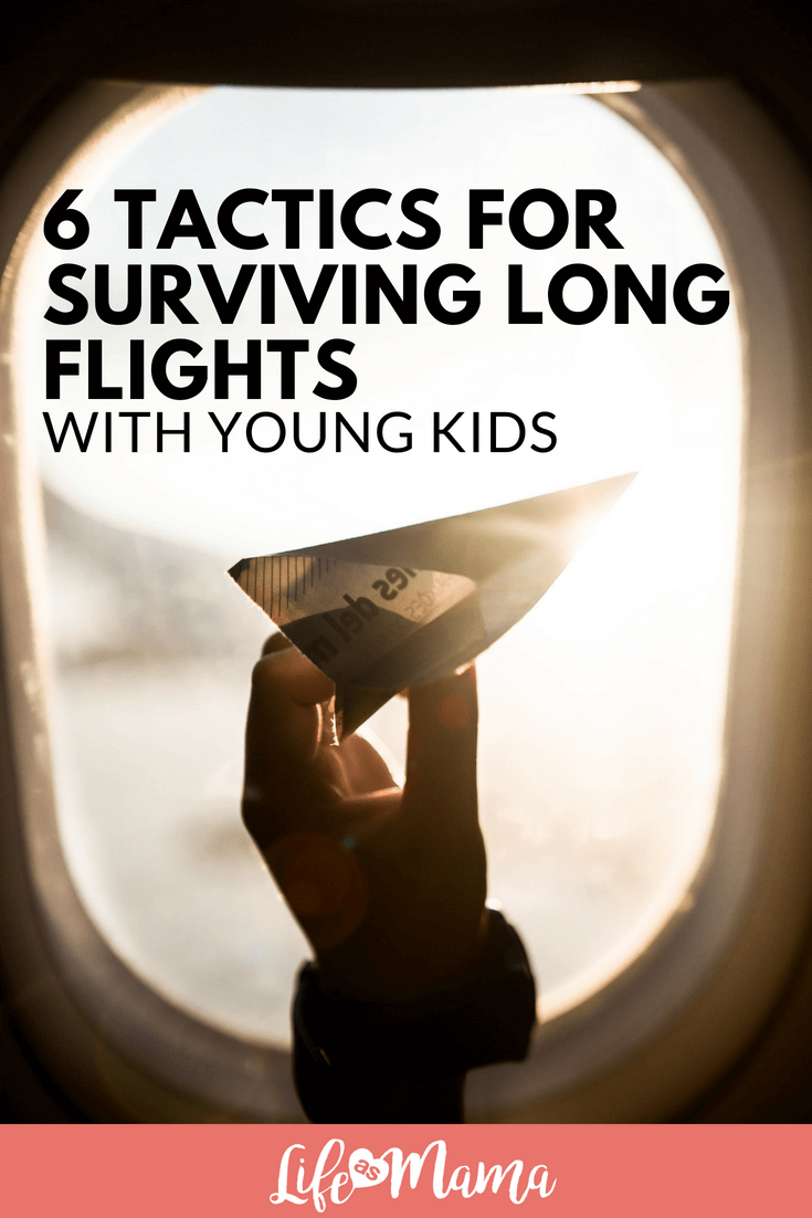 6 Tactics for Surviving Long Flights With Young Kids