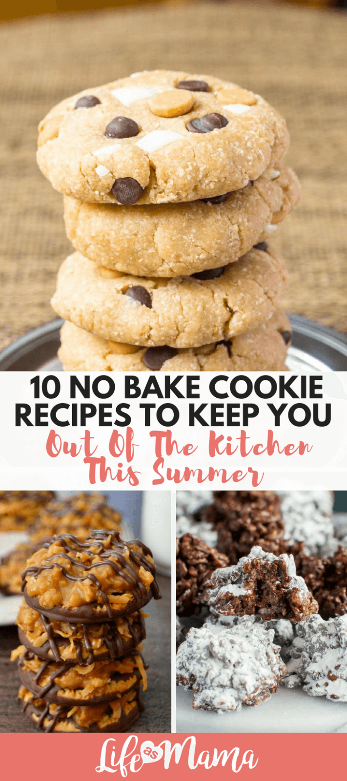10 No Bake Cookie Recipes To Keep You Out Of The Kitchen This Summer