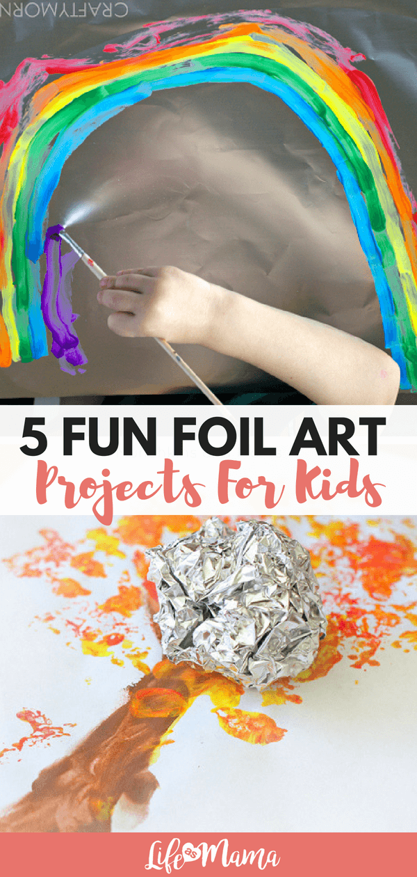 5 Fun Foil Art Projects For Kids