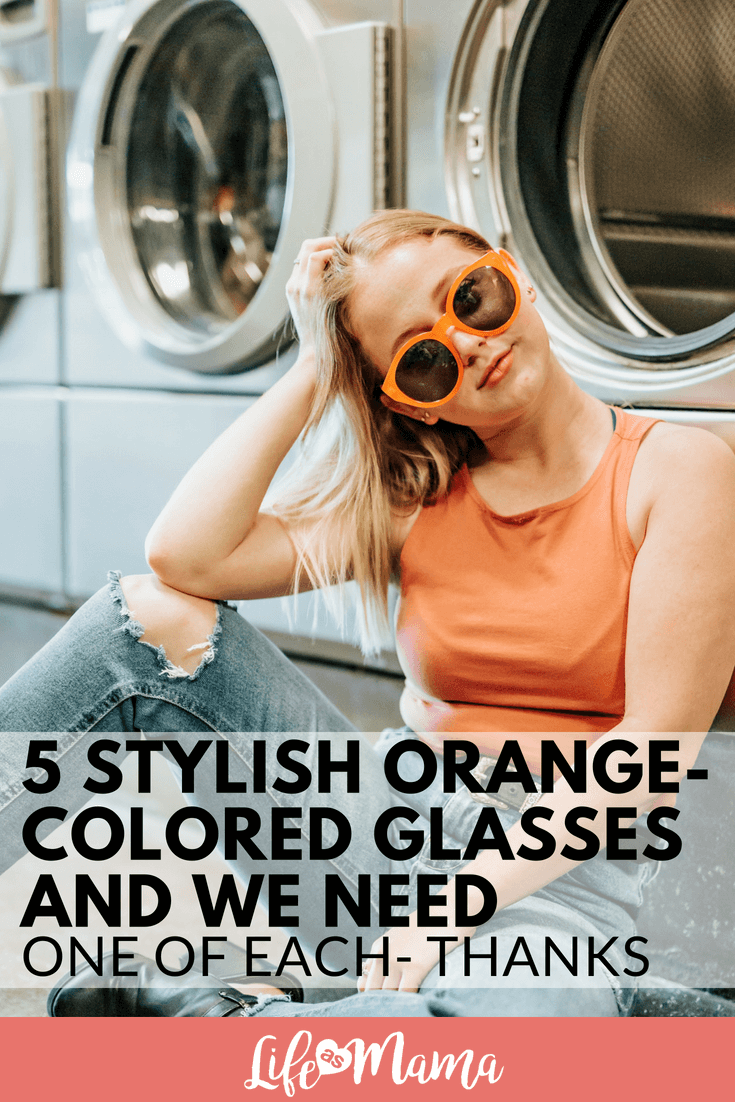 5 Stylish Orange-Colored Glasses And We Need One Of Each