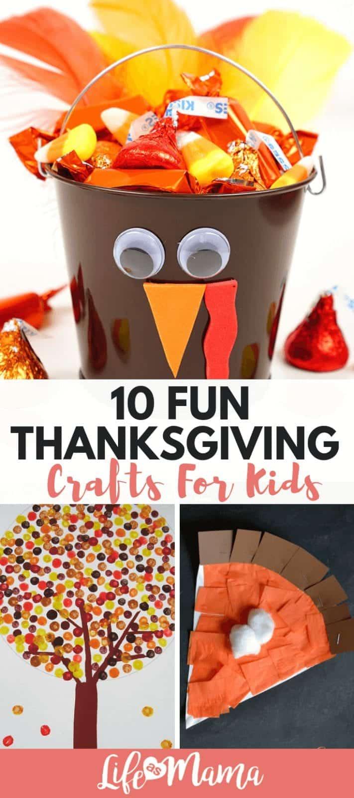 10 Fun Thanksgiving Crafts For Kids