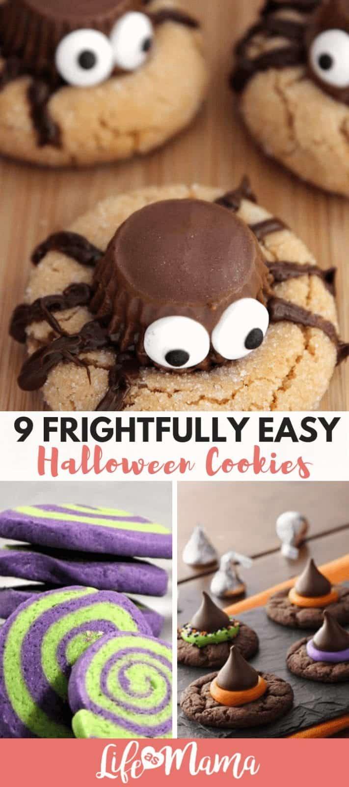 9 Frightfully Easy Halloween Cookies