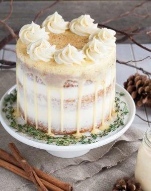 eggnog desserts