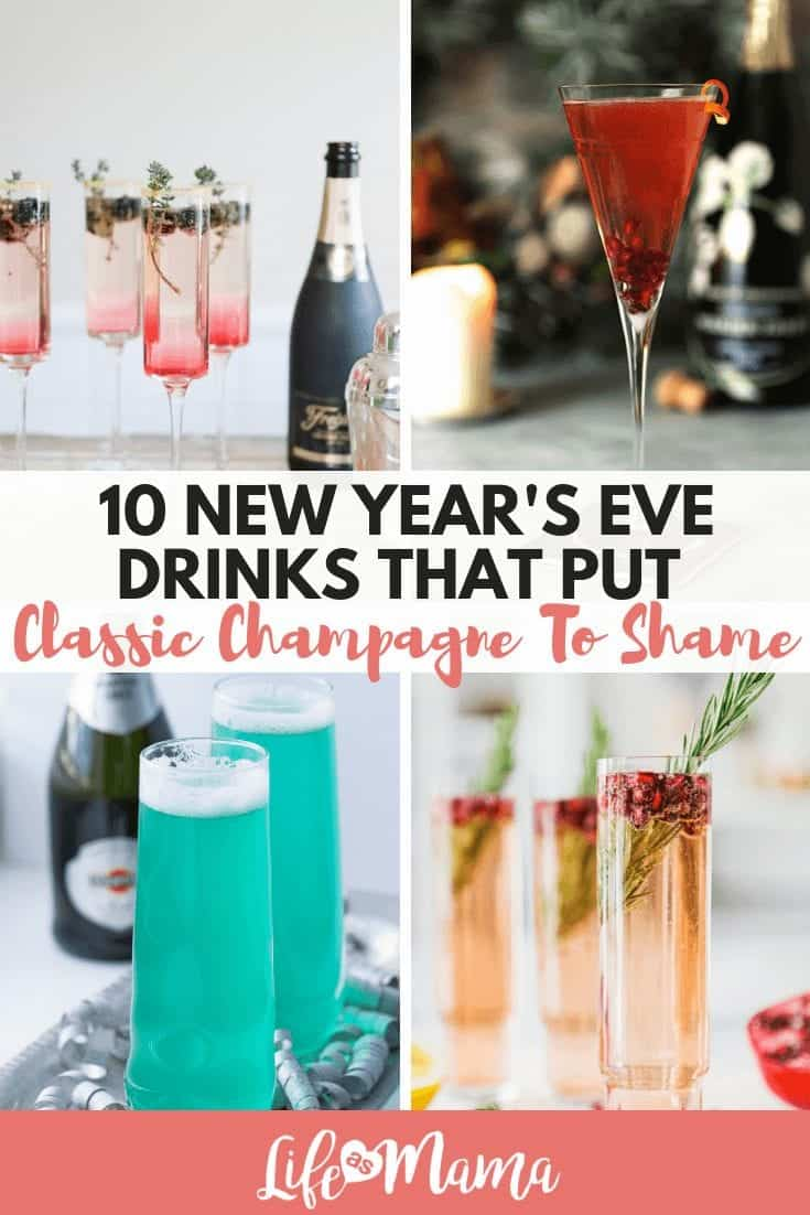 10 New Year's Eve Drinks That Put Classic Champagne To Shame