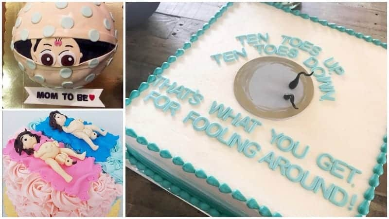 15 Hilarious Baby Shower Cakes You Can't Unsee