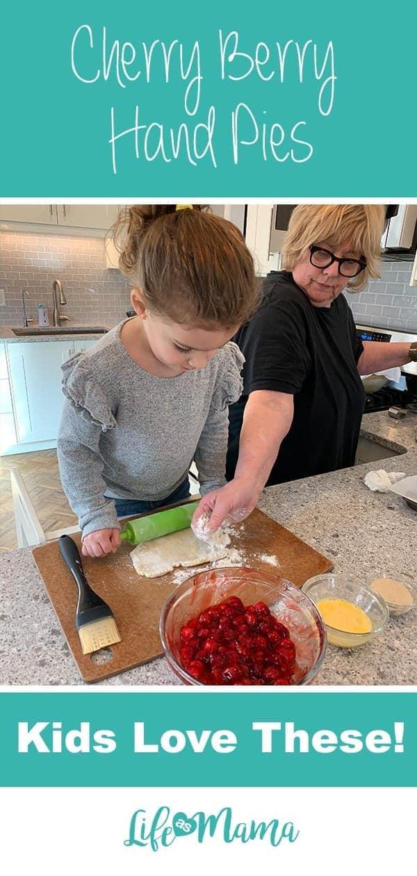 Cherry Berry Hand Pies