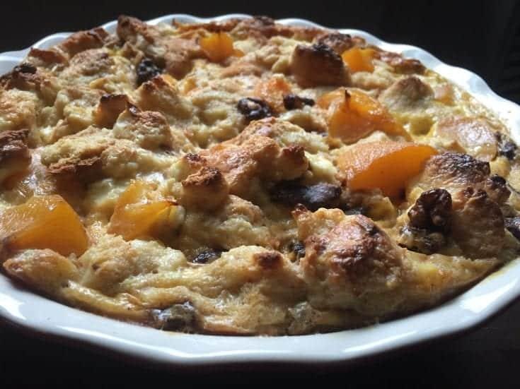 Peaches and Cream Brunch Casserole