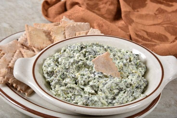 Spinach Dip With Ham
