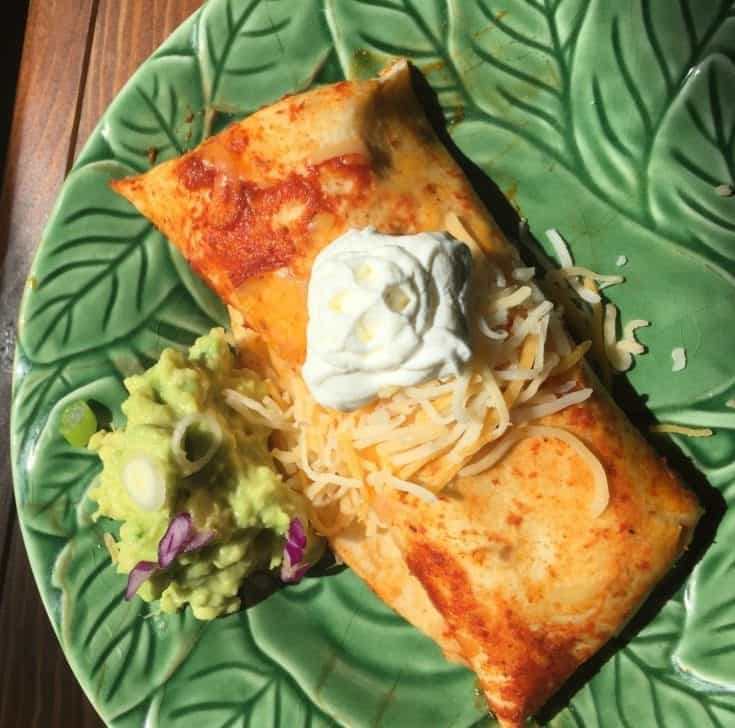 Cheese Enchiladas