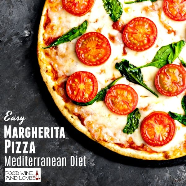 mediterranean diet recipes pizza