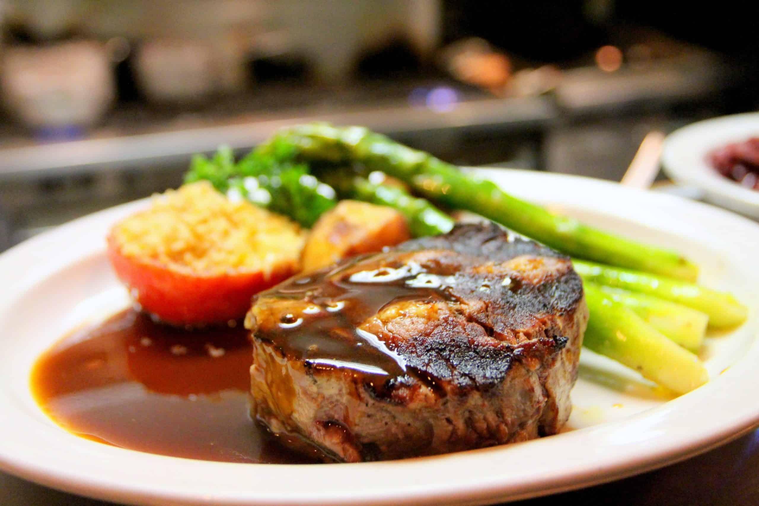 keto diet food on plate